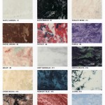 Marble Cremation Urn Color Chart